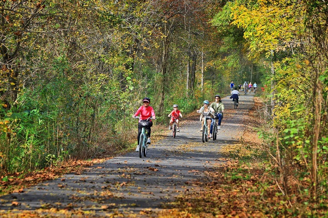 Greenville Swamp Rabbit Cycle Trail