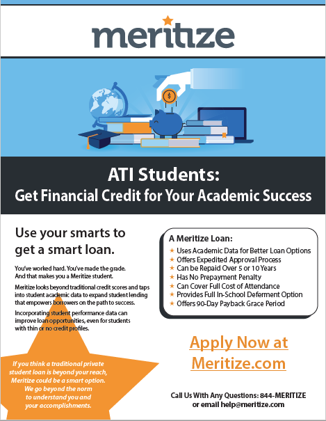 Financing Now Available for ATI!